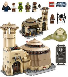 Lego Star Wars..I would love to find this set for him!!