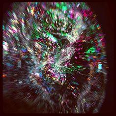 #photog #fun #bubble #burst #pop #rainbow #ball #image #mirror #abstract #explode #pigpaint