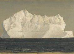Frederic Edwin Church, Iceberg, 1861.