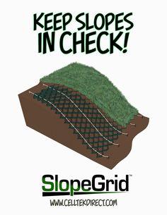 Cell-Tek Geosynthetics Load Support & Erosion Control Blog: SlopeGrid