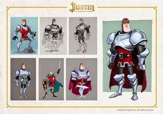 OSOKARO: JUSTIN AND THE KNIGHTS OF VALOUR II: EL SUEÑO DE JUSTIN, JUSTON HÉROE