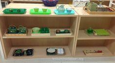 March Fine Motor Shelf -St Patrick's Day- Trillium Montessori