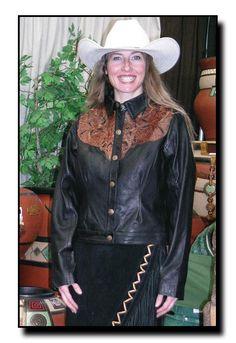 Kobler Ladies Carved Jacket