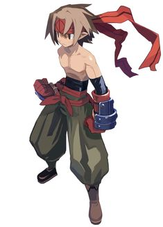 Male Fighter - Characters & Art - Disgaea 2: Cursed Memories       ★ || CHARACTER DESIGN REFERENCES (http://www.facebook.com/CharacterDesignReferences & http://pinterest.com/characterdesigh) • Love Character Design? Join the Character Design Challenge (link→ http://www.facebook.com/groups/CharacterDesignChallenge) Share your unique vision of a theme every month, promote your art  in a community of over 25.000 artists! || ★