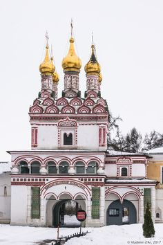 Церковь Петра и Павла над Святыми вратами. Иосифо-Волоцкий монастырь.(Иосифо - Волоколамский  монастырь).
