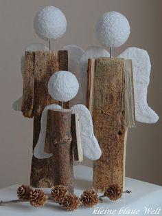 kleine blaue Welt: Meine Engelsbande Christmas Snowman, Kids Christmas, Craft Show Ideas, Snowman Crafts, Angel Art, Scandinavian Christmas, Holiday Crafts, Diy Gifts, Diy And Crafts