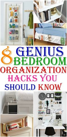 Bedroom Organization is another heavy task for any girl. Luckily there are few easy and simple Bedroom Organization hacks. I found few such Bedroom Organization hacks to refer and implement.