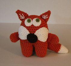 Sly Fox  Crochet PDF Pattern  Amigurumi Forest by craftyladyleah, $3.50