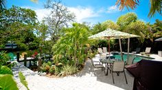Paradise Pointe is a gorgeous Anna Maria Island vacation rental right on a canal, so you can bring the boat for this getaway. Enjoy the heated pool and spa!