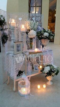 Στολισμός Γάμου   Εκκλησίας   Γάμος Vintage Diy Wedding Deco, Wedding Crafts, Rustic Wedding, Our Wedding, Church Wedding Decorations, Wedding Entrance, Table Decorations, Orthodox Wedding, Wedding Receptions