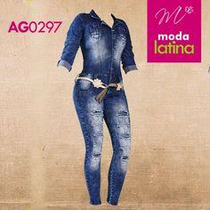 jeans  Push-Up enterizo AG0297