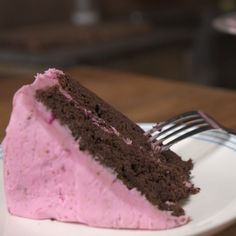 Chocolate Beet Cake, with beets in the frosting AND the cake.
