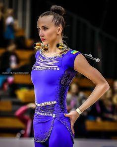 Ganna Rizatdinova (Ukraine) won BRONZE in all-around finals at the Olympic Games (Rio) 2016