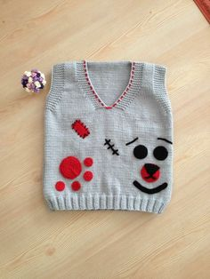 Knitting For Kids, Baby Knitting Patterns, Baby Patterns, Knit Baby Sweaters, Make Design, Baby Dress, Crochet Baby, Free Pattern, Wool