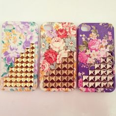 florals + studs, perfect for rebellious girly girls