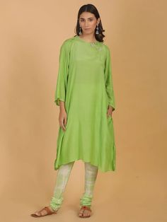 A Kurta to go with every occasion, be it printed embroidered or sequined. Shop from a wide Variety of most beautiful Kurtas in Pure Silk, Cotton & Linens & in vibrant colors. Green Cotton, Cotton Silk, Printed Cotton, Peach Tie, Burgundy Tie, Blue Ties, Indian Ethnic Wear, Indian Designer Wear, Cold Shoulder Dress