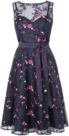 House of Fraser Phase Eight Fleur embroidered dress on shopstyle.co.uk