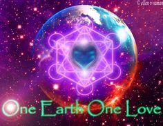 ONE Earth - ONE Love ♥  art; e11en♥ vaman www.facebook.com/ellenvaman 860.5