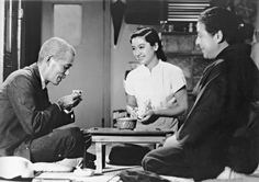 Tokyo Story (Tokyo Monogatari 東京物語), 1953, by Yasujiro Ozu (小津 安二郎). Considered to be Ozu's best movie, and has appeared several times in the British Film Institute lists of the greatest films ever made.