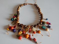 Jewelry Crafts, Handmade Jewelry, Diy Necklace, Necklaces, Tatting, Jewerly, Sewing Patterns, Antiques, Beadwork