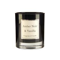 Amber Noir and Vanilla Scented Candle Jar