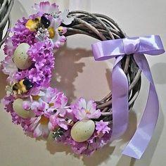 #wreath #spring #decorations #easter #flowers #homedeco #diy #handmade #design #wiosna #wianek #kwiatki #Wielkanoc #dekoracje #recznierobione
