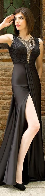 That Sexy Black Dress Prom Dresses Long With Sleeves, Bridesmaid Dresses, Wedding Dresses, Elegant Dresses For Women, Beautiful Gowns, Gorgeous Dress, Belle Photo, Dress To Impress, High Fashion