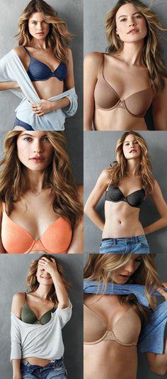 You want options? We've got options! // Victoria's Secret T-Shirt Bra