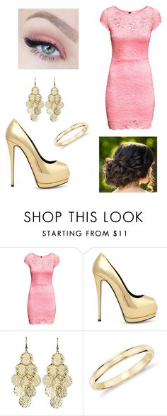 """HoCo Pt. 2"" by forever-young114 ❤ liked on Polyvore featuring H&M, Alexia Crawford, Blue Nile, women's clothing, women, female, woman, misses and juniors"
