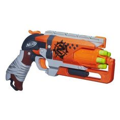 When the zombies strike, you'll be prepped to double-tap them with the Zombie Strike Hammershot blaster! Quick-draw this 5-dart blaster and pull back the hammer to start firing Zombie Strike darts at your target. | eBay!