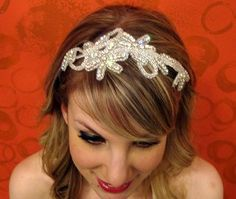 Close-up of the Margaret headband
