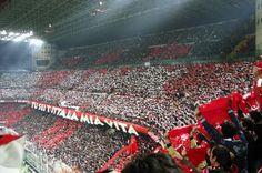 AC Milan fans.