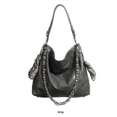 9b202f3e21d1 Check out this Elise Hope Metallic Hobo Bag with an MSRP of  96.00