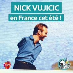 """🐟 POISSON D'AVR… Ah non, c'est bien vrai !  Nick Vujicic sera au Havre le 14 juillet pour l'événement """"Stade en fête"""" organisé par Bouge Ta France :D. Les jeunes de BTF 1.0 seront déjà présents et les chrétiens de tout âge et de toutes les régions sont invités à les rejoindre pour cette journée spéciale ! Plus d'informations via les liens ci-dessous ;)  BTF 1.0 pour les jeunes du 10 au 15 juillet : https://bougetafrance.fr/programme-btf1-0/   Le 14 juillet pour tous…"""