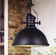 WinSoon 1PC 12 X 10.6 Inch Industrial Chandelier Metal Ceiling Pendant Light Vintage Retro Lamp Shade Black WinSoon http://www.amazon.com/dp/B0191GFZIU/ref=cm_sw_r_pi_dp_kcM1wb1A2SB6A