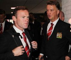 Wazza with Van Gaal. #MUFCTour ♥