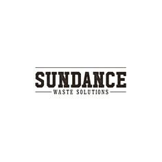 Sundance Waste Solutions 鈥?20SUNDANCE Waste Logo - Creative, Energetic and Environmental