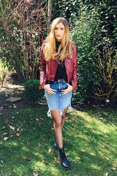 Kennt Ihr schon Nina? Sie ist Gastbloggerin auf meinem Blog und stellt einmal pro Woche ein Outfit vor.