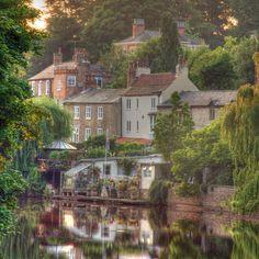Knaresborough, Yorkshire, England.