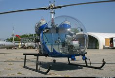 Bell 47G-3B-1 - Great coyote chopper..