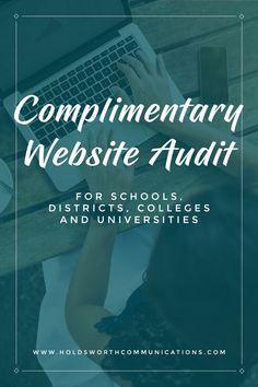 Complimentary Website Audit Schoolpr Website Websitedesign Schoolmarketing Highered Highereducation Higheredmarketing Audit Complimentary Website