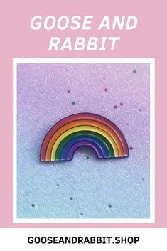 "5 pack of 1/"" LGBT pride rainbow heart shaped hard enamel pins"
