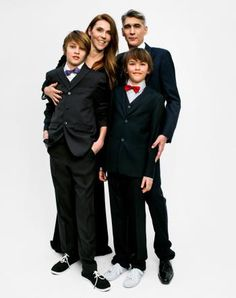 We are Family: Das grosse annabelle Familien-Shooting Redaktion: Cati Soldani, Michèle Boeckmann; Fotos: Glenn Glasser