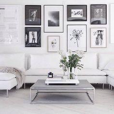 scandi styled living room
