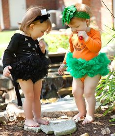 Let's all help create jobs here in America by buying American made! Couture Halloween Pumpkin Tutu One Piece Bodysuit #keepamerica #madeinusa