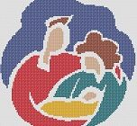 Cross Stitch Pattern: Proud New Parents