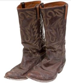 Mitchell's dad's boots look just like these.