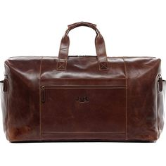 Rivello Genuine Leather Holdall Bag - Detachable Shoulder Strap - Brown - Small Carry On Duffel Bag, Weekender, Crossbody Bag, Hand Luggage Suitcase, Luggage Deals, Childrens Luggage, Bristol, Piel Natural, Travel Tote
