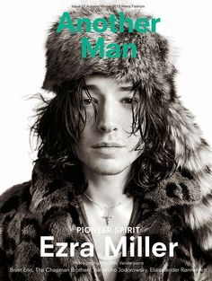 Male Fashion Trends: Ezra Miller para AnOther Man Magazine Fall/Winter 2013