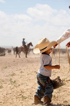 growing up cowboy style